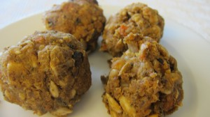 Vegan meatballs fit approach vegan cooking